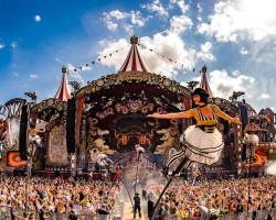 Como fica o parque do Tomorrowland Bélgica durante o inverno?