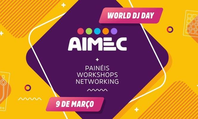 Dia Mundial do DJ com ações Beneficente nas AIMECs