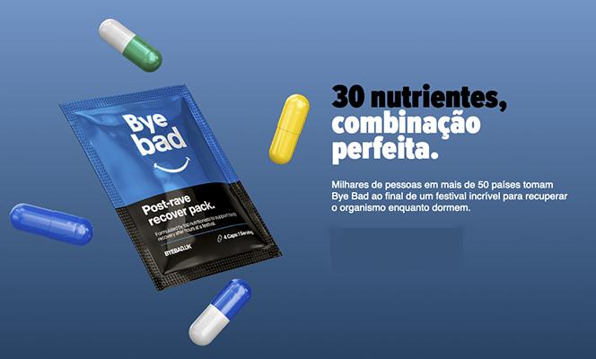Saiba mais sobre o Bye Bad, produto que promete revolucionar o dia seguinte dos frequentadores de festas e festivais
